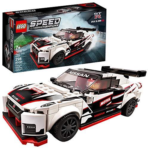 史低价!LEGO乐高  Speed Champions 赛车系列76896 日产 GT-R NISMO车