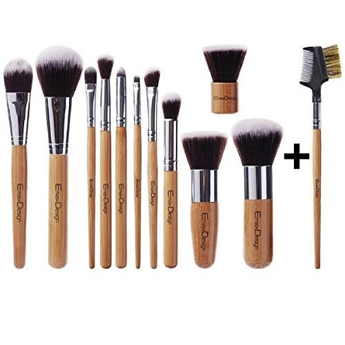 EmaxDesign® Makeup Brush Set Professional 12 Pieces