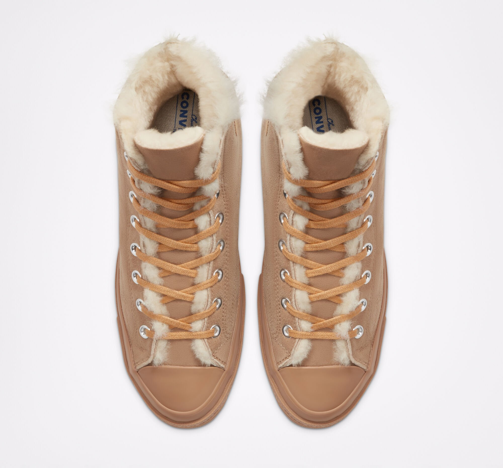 Converse $30 Styles, $40 Styles, $50 Styles Sale: Suede Shearling Chuck 70 Shoes