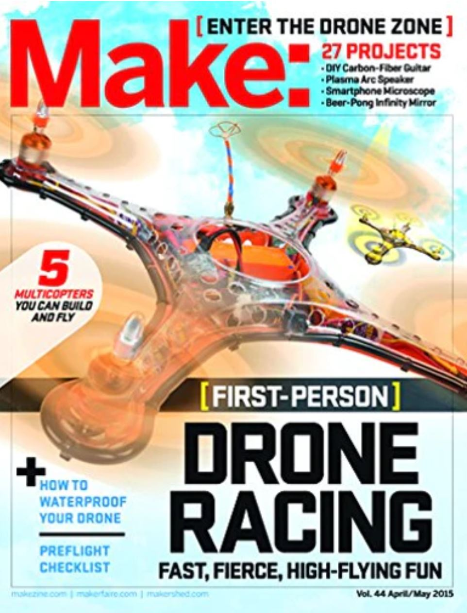 Make: Magazine (DIY Projects, How-To's, Electronics)