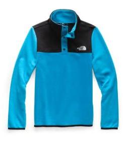 The North Face Boys' or Girls' Glacier 1/4-Snap Fleece Pullover