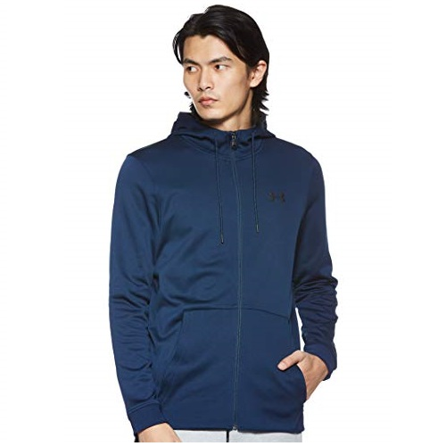Under Armour mens Armour Fleece Full Zip Hoodie