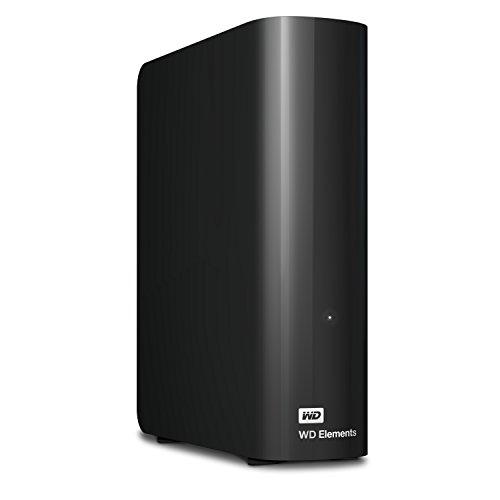 WD 12TB Elements Desktop Hard Drive, USB 3.0 - WDBWLG0120HBK-NESN
