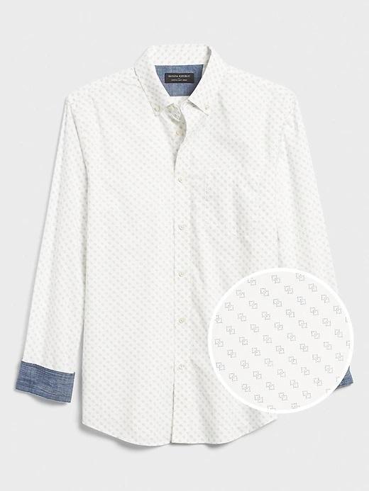 Banana Republic Factory: Men's Slim-Fit Soft-Wash Shirt (Tall)