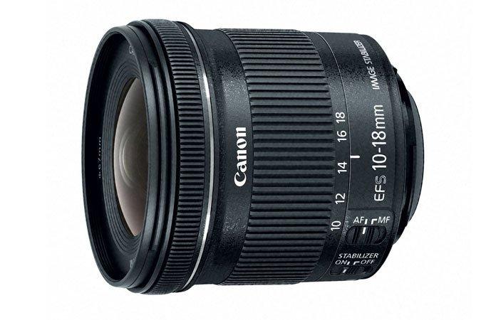 Canon Refurb Lenses Sale: EF-S 10-18mm f/4.5-5.6 IS STM Lens