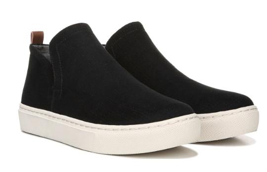 Dr. Scholl's Women's Shoes: No Worries Sneaker Bootie (Black)