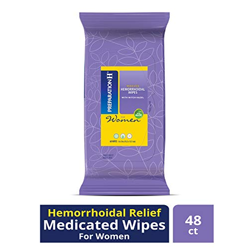 Preparation H Women's Flushable Medicated Hemorrhoid Wipes