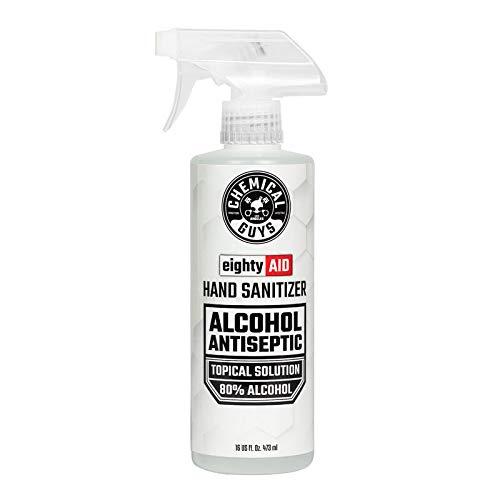 Chemical Guys 含80%酒精免洗洗手液 16oz