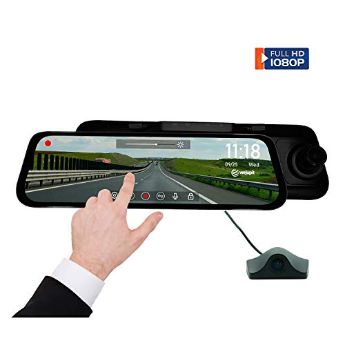 weJupit's Streaming Media Rearview Mirror