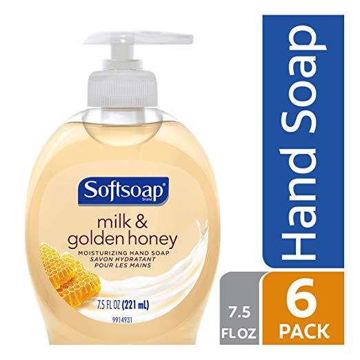 史低价!Softsoap 抗菌洗手液,7.5 oz/瓶,共6瓶