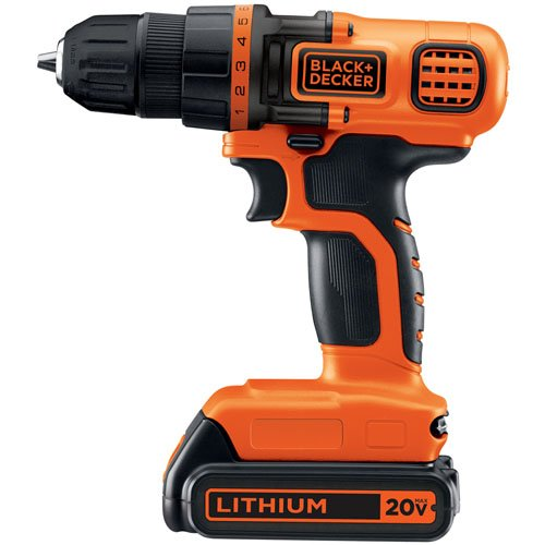 Black & Decker LDX120C 20-Volt MAX Lithium-Ion Drill/Driver