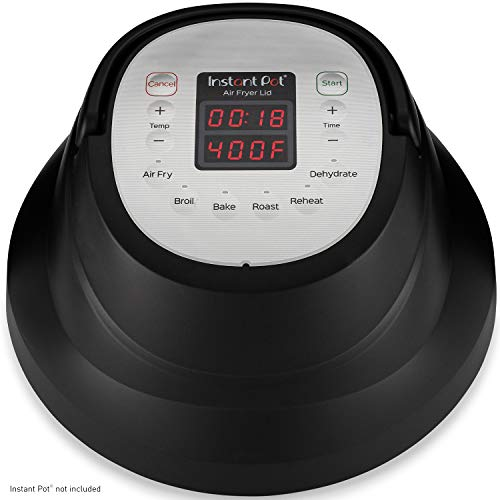 Instant PotAir Fryer Lidwith Roast, Bake, Broil, Reheat & Dehydrate, Only $79.95, You Save $60.05 (43%)