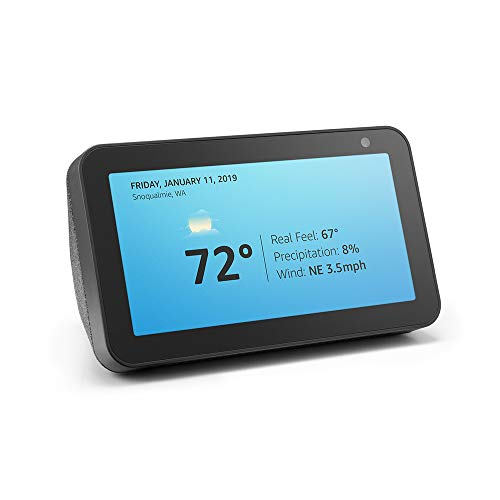 Echo Show 5 - Compact smart display with Alexa - Charcoal x 2
