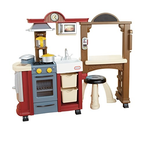 Little Tikes Kitchen & Restaurant-Red - (Amazon Exclusive)