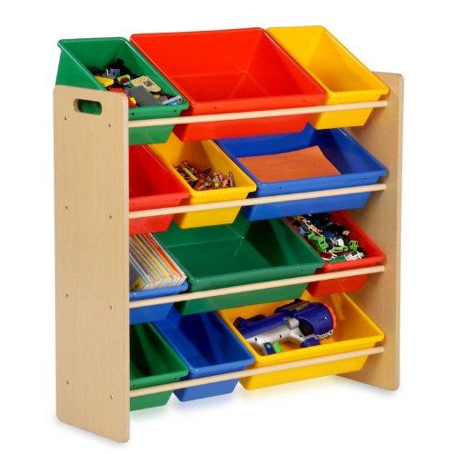 Honey-Can-Do小孩玩具分类储存架