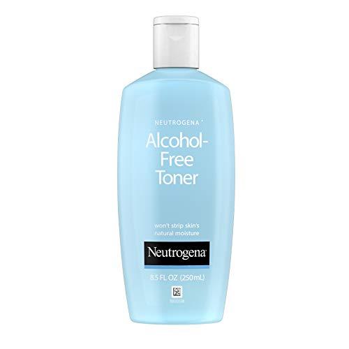 Neutrogena 露得清 无油无醇面部爽肤水,低过敏性配方,250ml