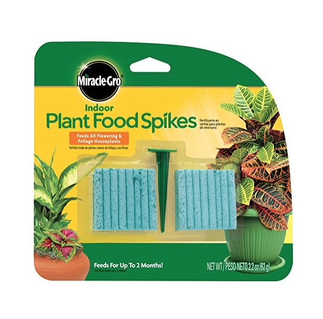 Miracle-Gro Indoor Plant Food, 48-Spikes 4.3