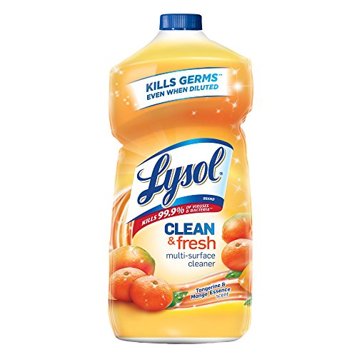 Lysol Clean & Fresh Multi-Surface Cleaner, Tangerine & Mango, 40oz