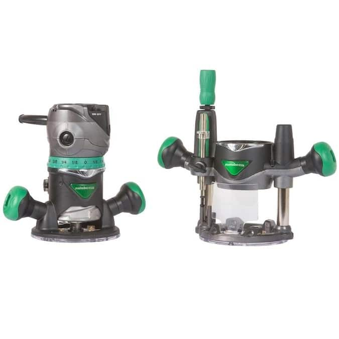 Select Lowe's Stores: Hitachi 11 Amp Variable Speed Fixed/Plunge Base Router Kit