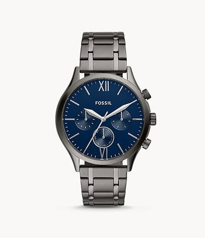 Fossil Men's Watches: Flynn Chronograph or Fenmore Multifunction