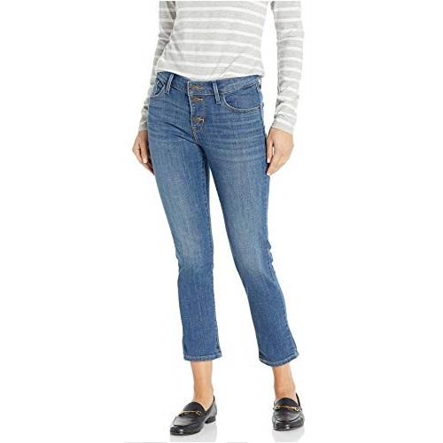 Levi's 李维斯 经典款 Mrs Button 女式九分牛仔裤