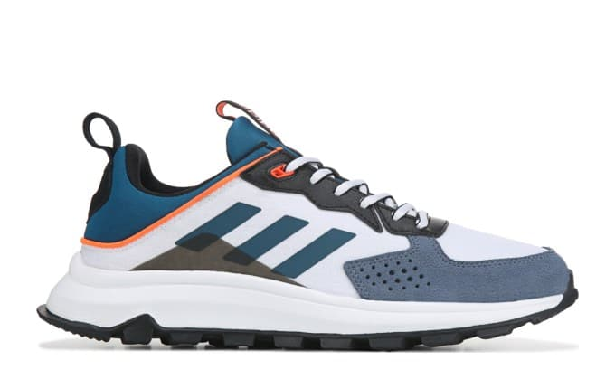 adidas Men's Response Trail Running Shoes (White/Blue/Orange)