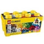 LEGO乐高Classic基础系列10696创意拼砌桶