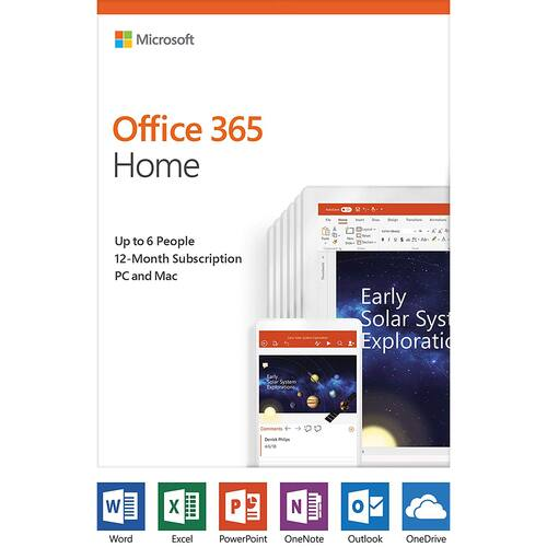 Microsoft Office Home & Student 2019 (1 PC or Mac) Damaged Retail Box