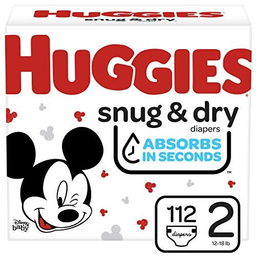 Huggies好奇Snug & Dry干爽舒适纸尿裤,2号112片装
