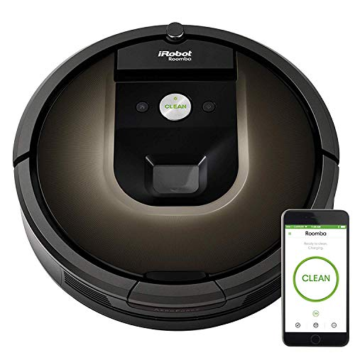 iRobot Roomba 980 Wi-Fi Connected Vacuuming Robot (Renewed)