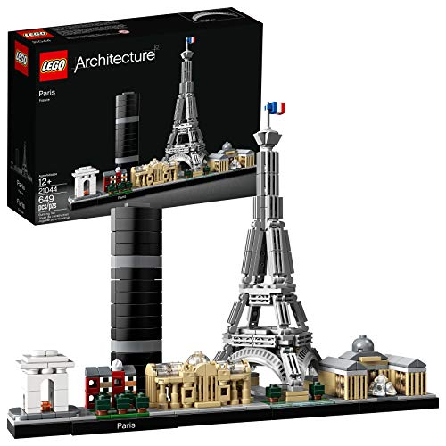 LEGO Architecture Skyline Collection 21044 Paris Building Kit , New 2019 (649 Piece)