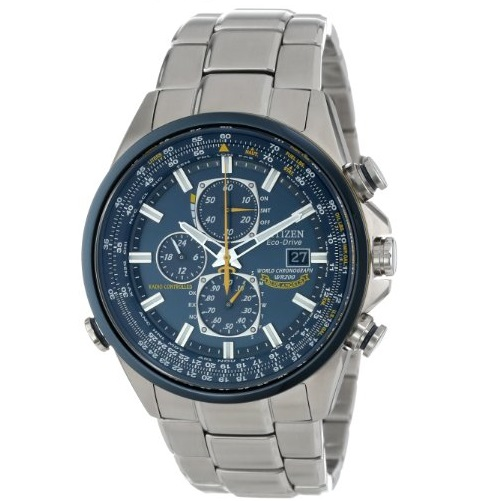 Citizen Men's AT8020-54L Eco-Drive Blue Angels World Chronograph A-T Watch
