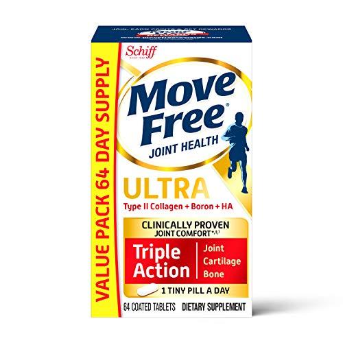 Schiff Move Free 维骨力 骨胶原维骨力白瓶氨糖软骨素,64粒