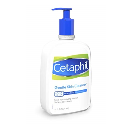Cetaphil Gentle Skin Cleanser for All Skin Types, 20 oz
