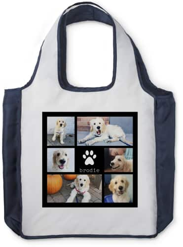 Shutterfly Personalized Reusable Shopping Bag or Drawstring Bag
