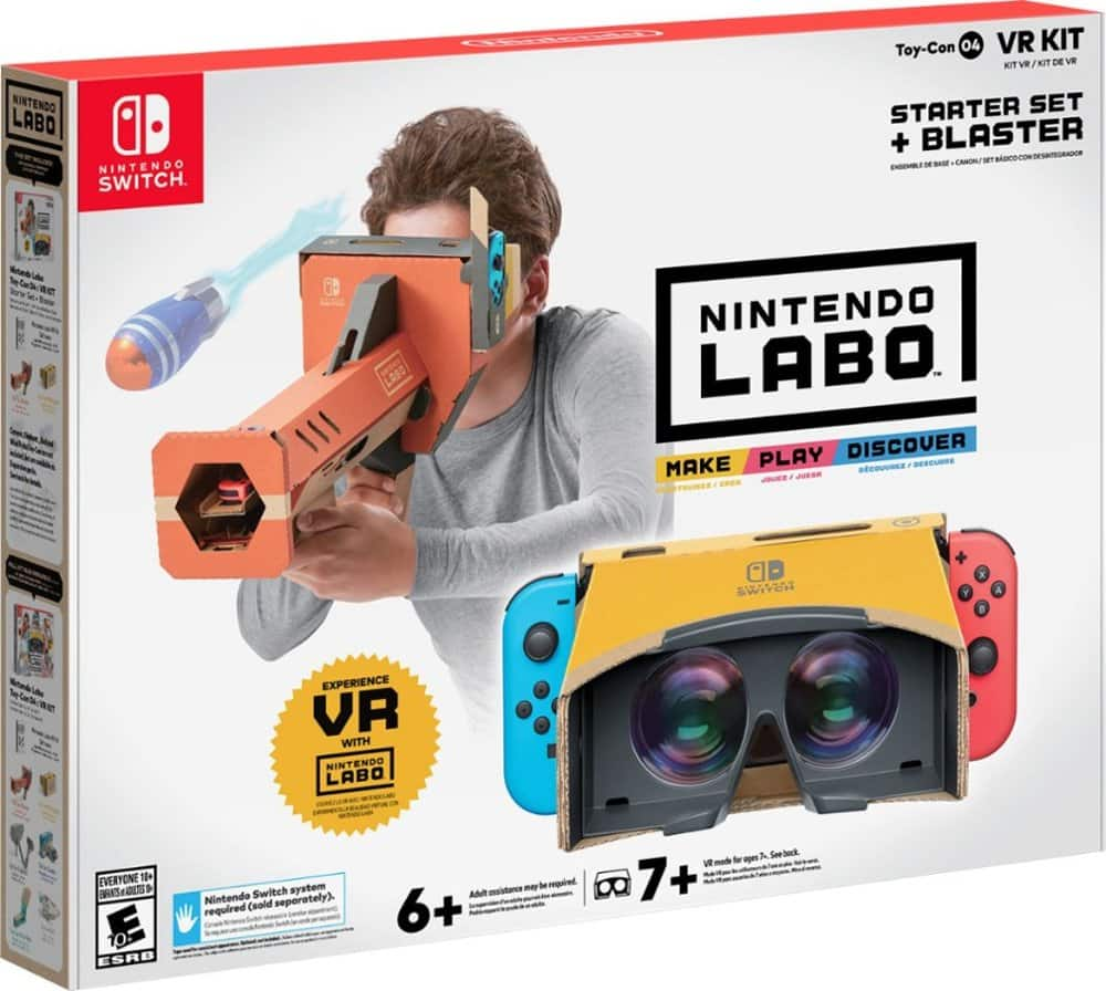 Labo Toy-Con 04: VR Kit Starter Set + Blaster (Nintendo Switch)