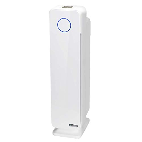Germ Guardian True HEPA Filter Air Purifier for Home, Office, Large Rooms, Filters Allergies, Pollen, Smoke , UVC Sanitizer Eliminates Germs, Mold, Odors, Quiet 28 inch 4-in-1 AC5350W