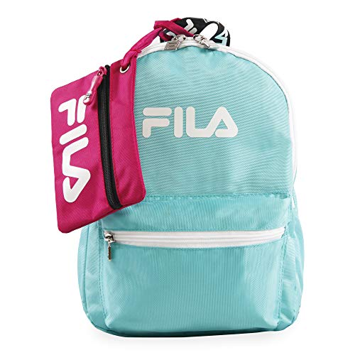 Fila Women's Hailee 13-in Backpack, Teal, One Size