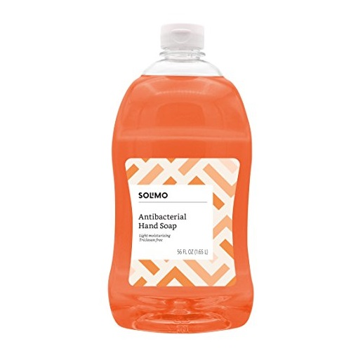 Amazon自有品牌!Solimo 抗菌洗手液,56 oz