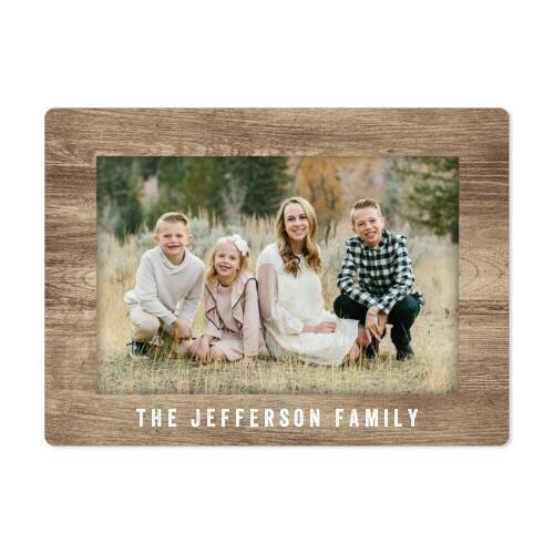 """Shutterfly Personalized Magnets: 4-Piece 2""""x2"""" Set, 4""""x5.5"""" Frame Magnet"""