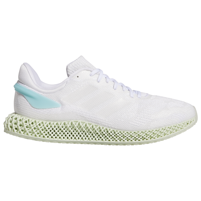 adidas 4D Run 1.0 Men's Running Shoes (Sizes 8.5 to 11, White/White)