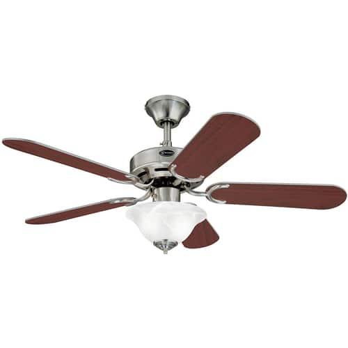 "42"" Westinghouse Lighting Richboro SE Reversible Five-Blade Indoor Ceiling Fan"