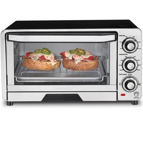 Cuisinart Custom Classic Stainless Steel Toaster Oven Broiler (Factory Refurb)