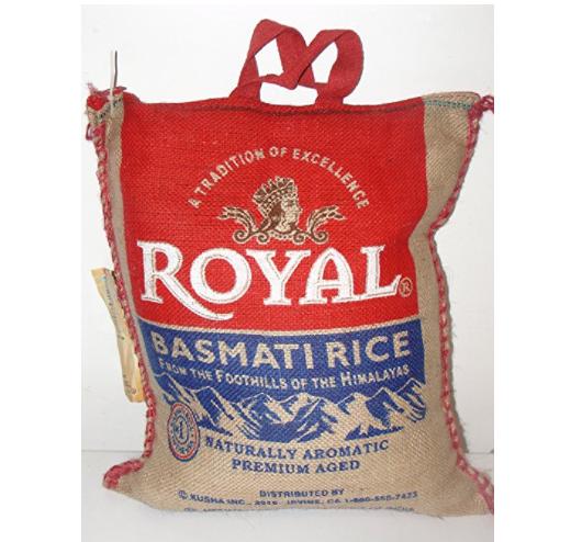 补货了!Royal Basmati 皇家印度香米, 15磅