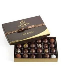 黑松露巧克力  24颗