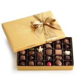 什锦经典巧克力礼盒  36颗