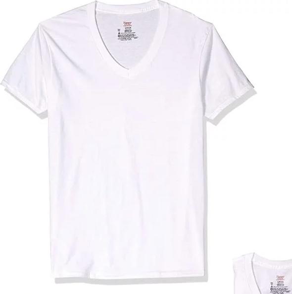 Hanes 男士纯棉T恤3件装