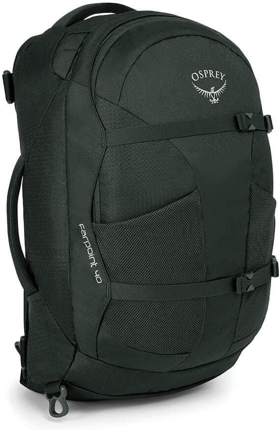 Osprey Travel Backpack: Women's Fairview 40 $92, Men's Farpoint 40