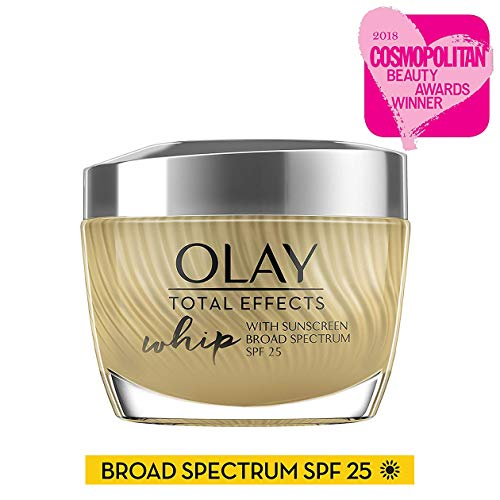Olay Total Effects Whip Face Moisturizer with Sunscreen, SPF 25, 1.7 oz