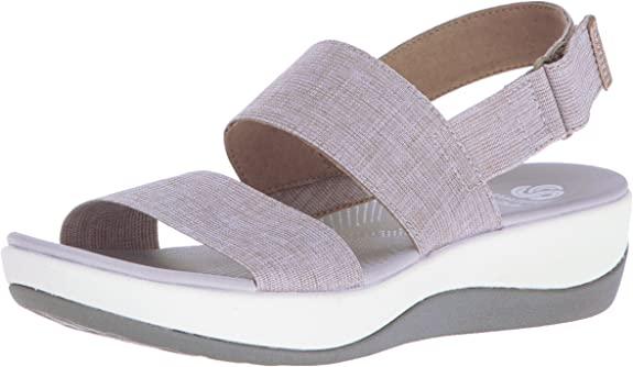 超舒适的云步系列 Clarks 女式凉鞋